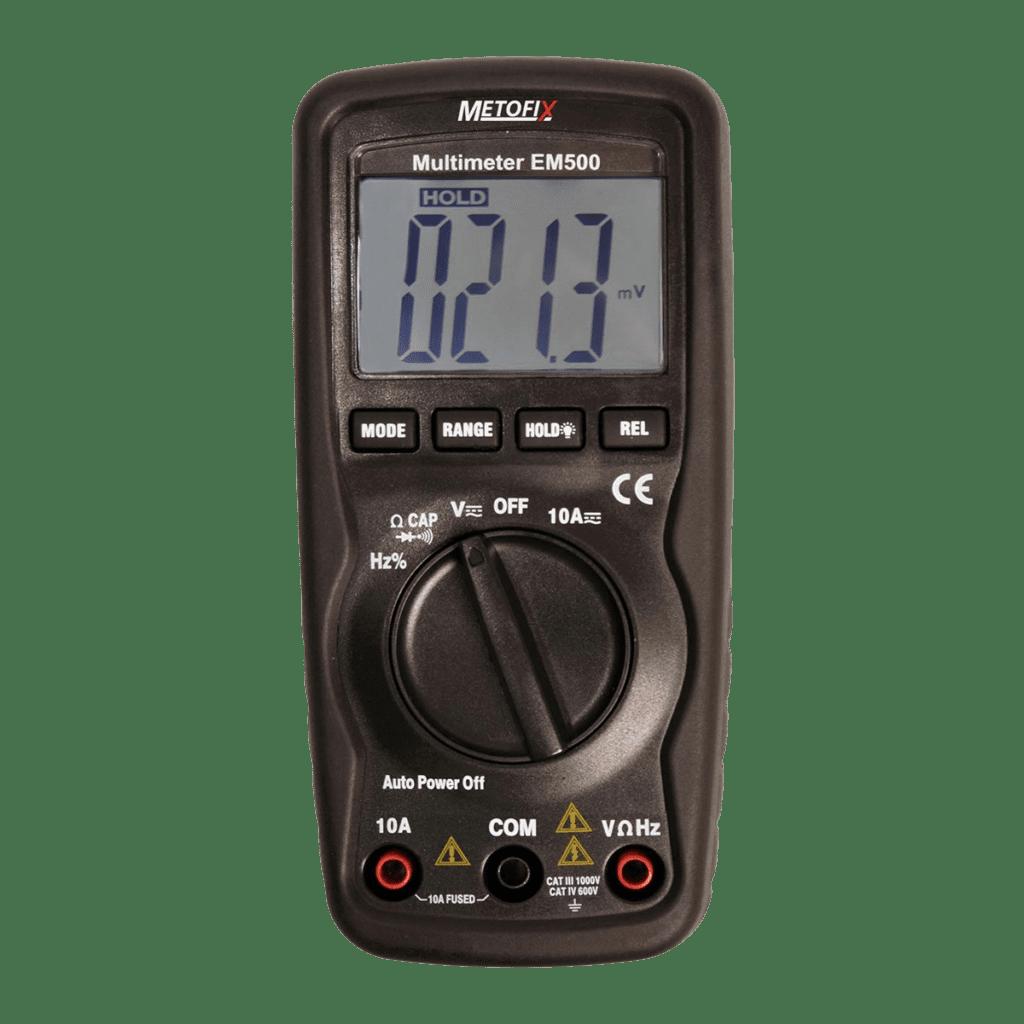Metofix EM500 Voltmeter